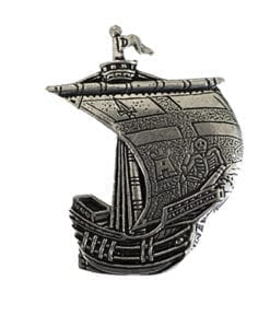Derry Irish Ship Pin