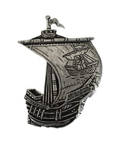 Galway Irish Ship Pin