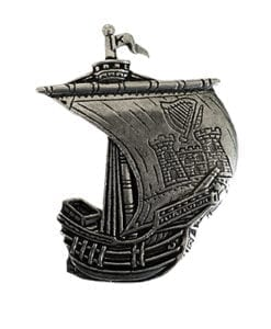 Kerry Irish Ship Pin