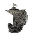Leitrim Irish Ship Pin