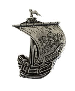 Limerick Irish Ship Pin