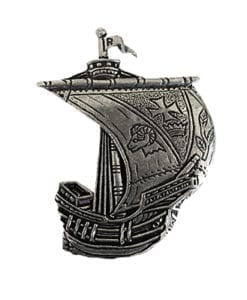 Roscommon Irish Ship Pin