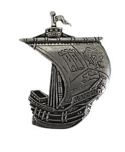 Sligo Irish Ship Pin