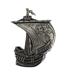 Tyrone Irish Ship Pin